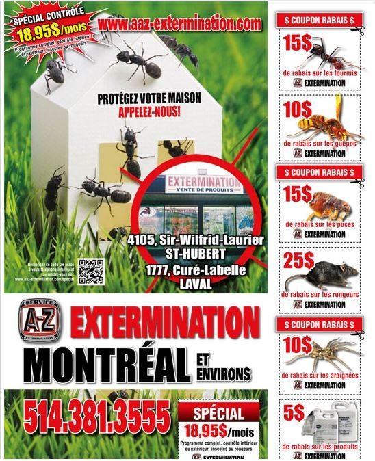 A à Z Extermination Promotions